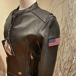 Ladies Harley-Davidson leather jacket size S